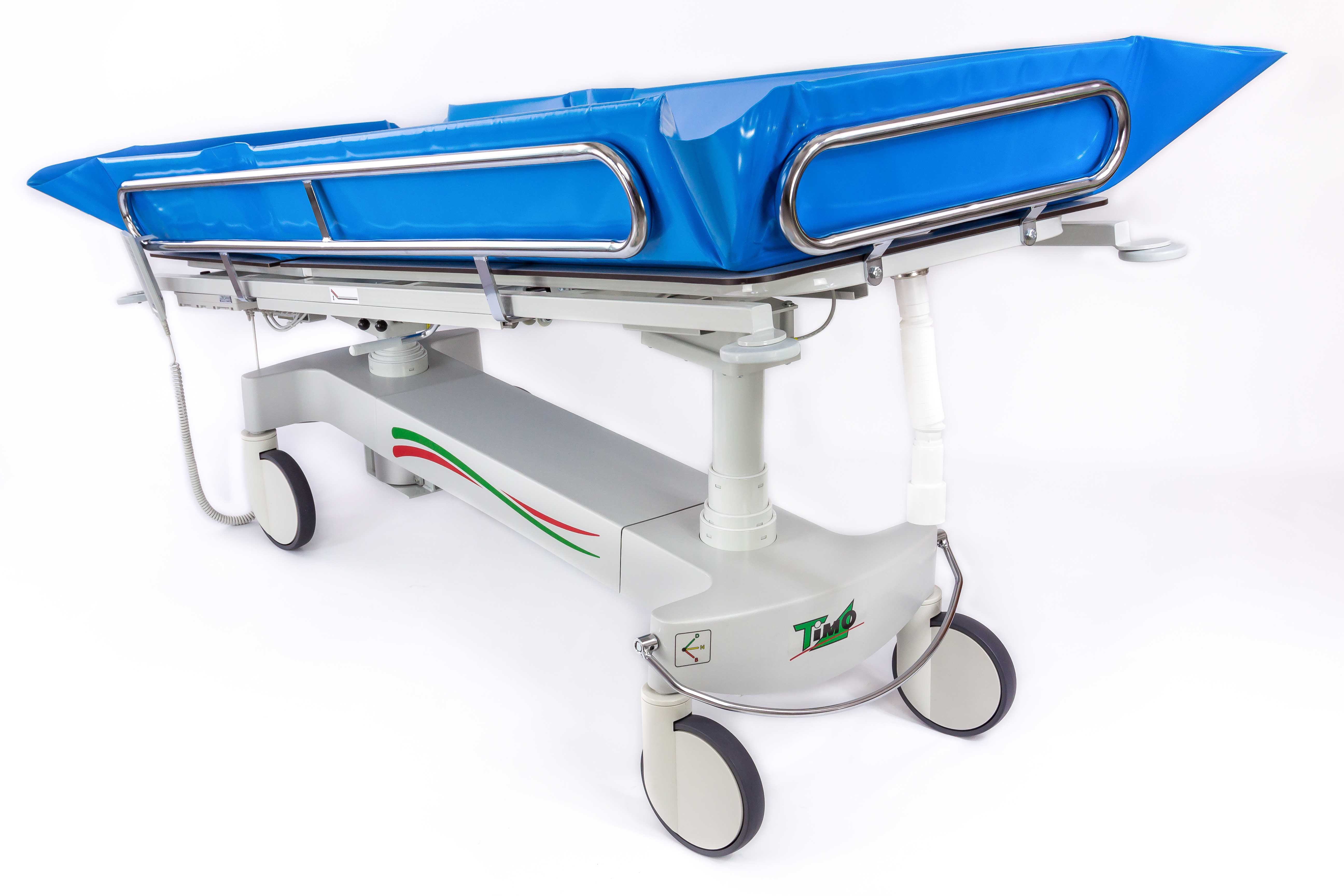 equipment adjustable the hydraulic shower timo care yorkshire bathing height trolley p