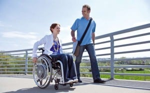 E-motion power wheels for active wheelchair users