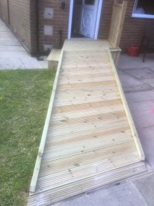 Custom ramps can be fitted whilst complying with social distancing