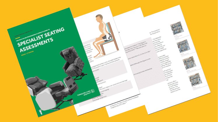 Preview of Yorkshire Care Seating Assessment eBook