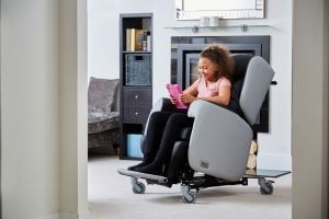 Wheels make the Little Lento very mobile so the chair can easily move around the school