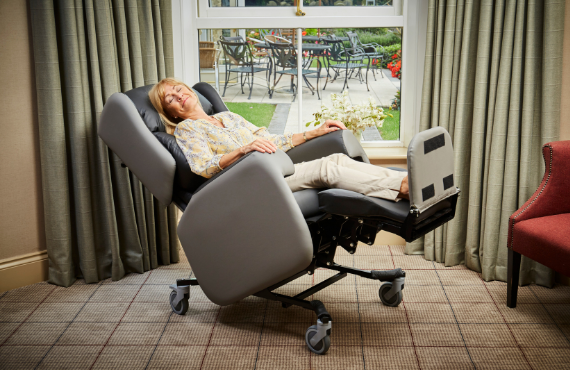 Lento care chair prescriptions can be tailored to individual needs